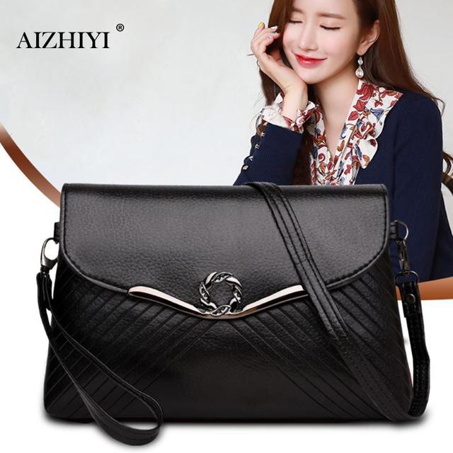 Women Flap Designer PU Leather Chain Messenger Bag Small Handbags Lady Satchel Tote Vintage Sling Crossbody Sling Shoulder Bags 2