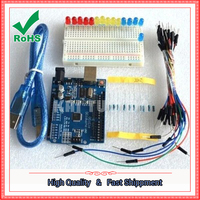 UNO R3 Learning Suite Upgrade Edition Starter Kit Development Board Kit Robot Production Kit 1