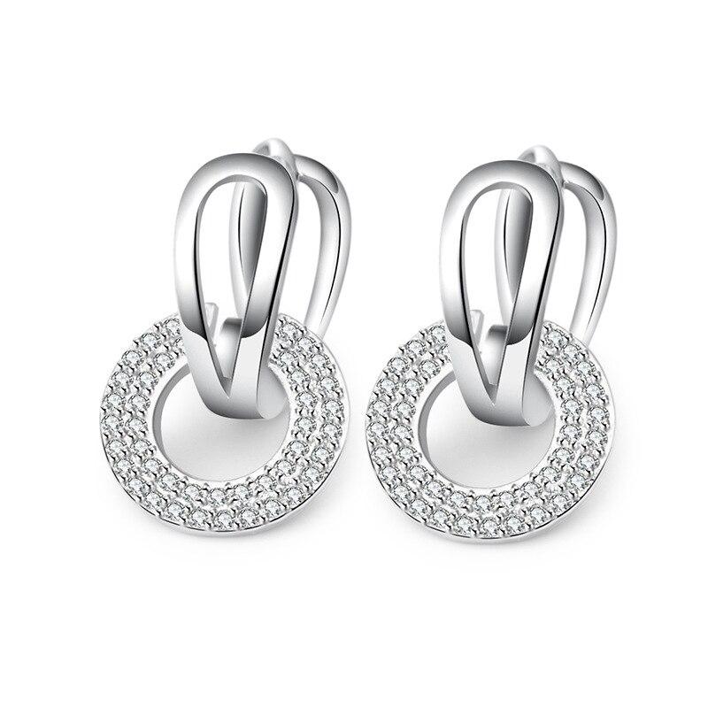 wedding earrings 925 sterling silver