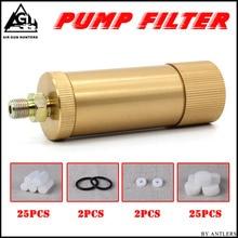 Высокое давление PCP ручной насос воздушный фильтр масло-вода сепаратор для высокого давления pcp 4500psi 30 мпа 300 бар воздушный насос