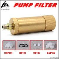 High Pressure PCP Hand Pump Air Filter Oil Water Separator For High Pressure Pcp 4500psi 30mpa