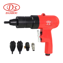 DS Pneumatic Tools 1/4  Riveter Guns DS804 Hand Air Rivet Nut Riveting Tool M4-M10 1pc