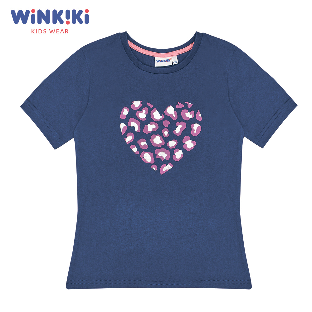T-Shirts WINKIKI WJG91407 T-shirt kids children clothing Cotton Pink Girls Casual shein kiddie white cartoon print casual t shirt toddler girl tops 2019 spring fashion short sleeve girls shirts kids tee