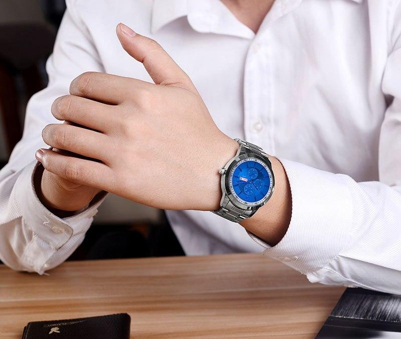 1312 Business Men Watch Top Brand Luxury Watches Men Clock Classic Fashion Wristwatch Male Quartz-Watch Reloj Hombre