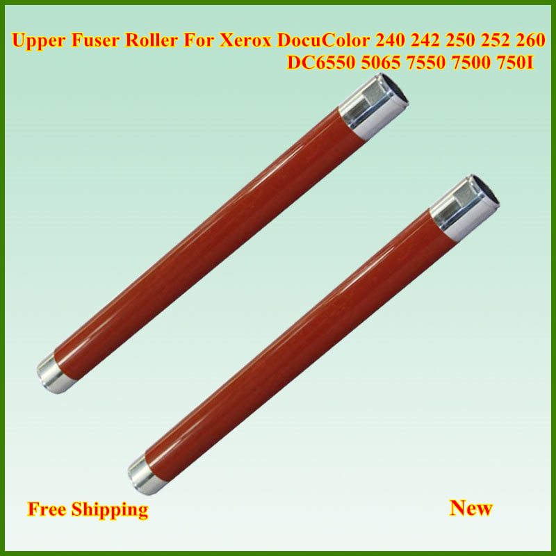 New Upper Fuser Heat Roller For Xerox DC 240 242 250 252 260 WC 7655 7665 7675 7755 7765 7775 DCC 6550 7500 7550 6500 5500 7600