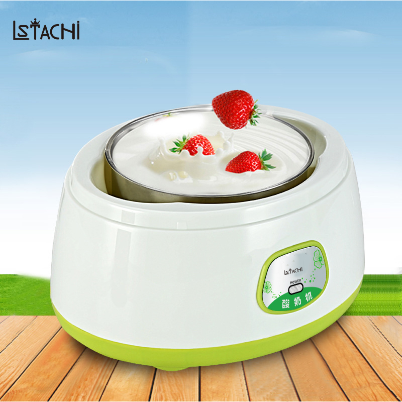 LSTACHi 1.2L Full-Automatic Easy Fermentation Constant Temperature Yogurt Rice Wine Maker in Kitchen Appliances