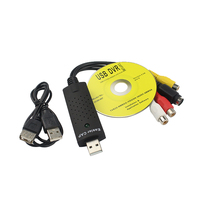 4 CAP Channel USB 2 0 DVR Video Capture Audio Record Card Adapter Composite RCA