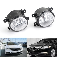 Areyourshop 1Pair Fog Lights Lamp For Acura For Honda TSX RDX TL ILX CR V Pilot 2011 2015 Fog Lights Car Styling Accessories