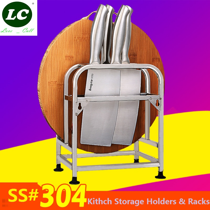 free shipping Kitchen supplies shelf Storage Holders & Racks for knift/cutting board stainless steel storage rack oven rack