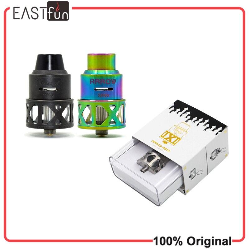 bilder für Original tesla pfeil rdta tank 3,5 ml by teslacigs elektronische zigarette airflow zerstäuber für tesla nano 120 watt box mod