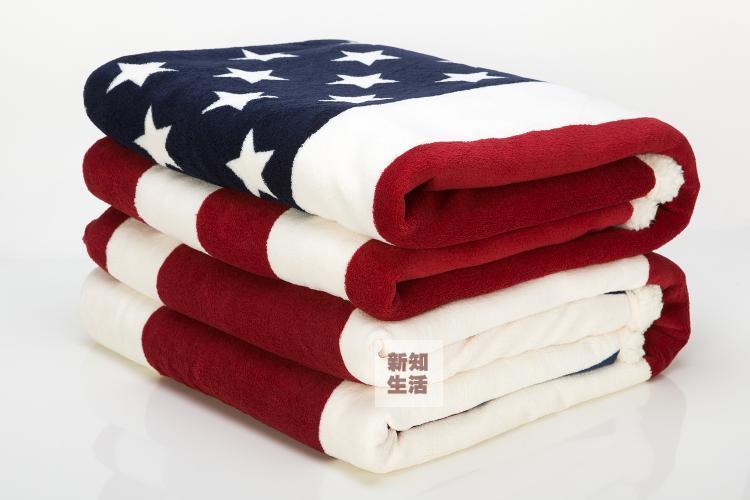 Deken Amerikaanse Vlag.Europese En Amerikaanse Vlaggen Dikke Sherpa Dubbel Zijdige