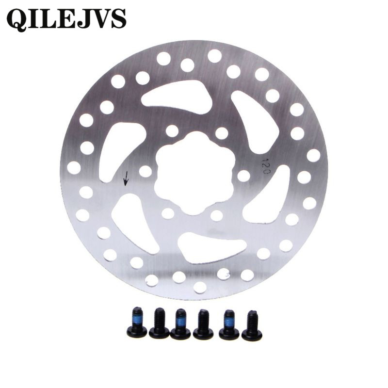 QILEJVS 1 Set Mechanical Cycling Bicycle Disc Brake Rotor For 120mm Fr MTB Mountain Bike Disc Brake Rotor in Bicycle Brake from Sports Entertainment