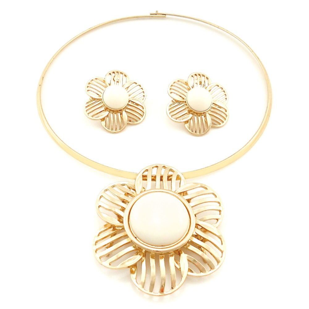bling bling not expensive fake jewelry sets luxurious costume women ...