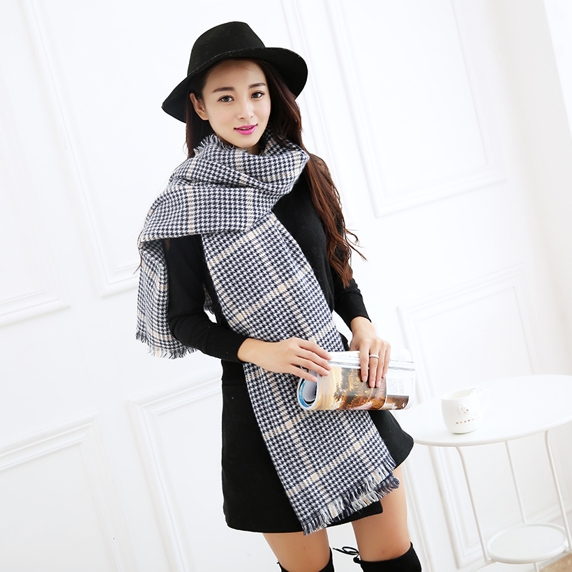New Style Women Winter Knitted Scarf Lons