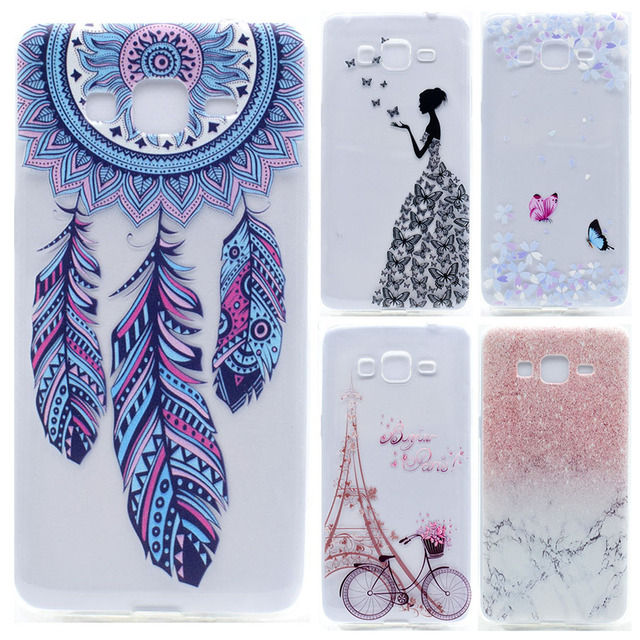 best service 53b85 1dbca US $3.99  Soft TPU for Samsung Galaxy J2 Prime Case Transparent Silicone 3D  Printing Cover Phone Case for Samsung Galaxy J2 Prime Coque on ...