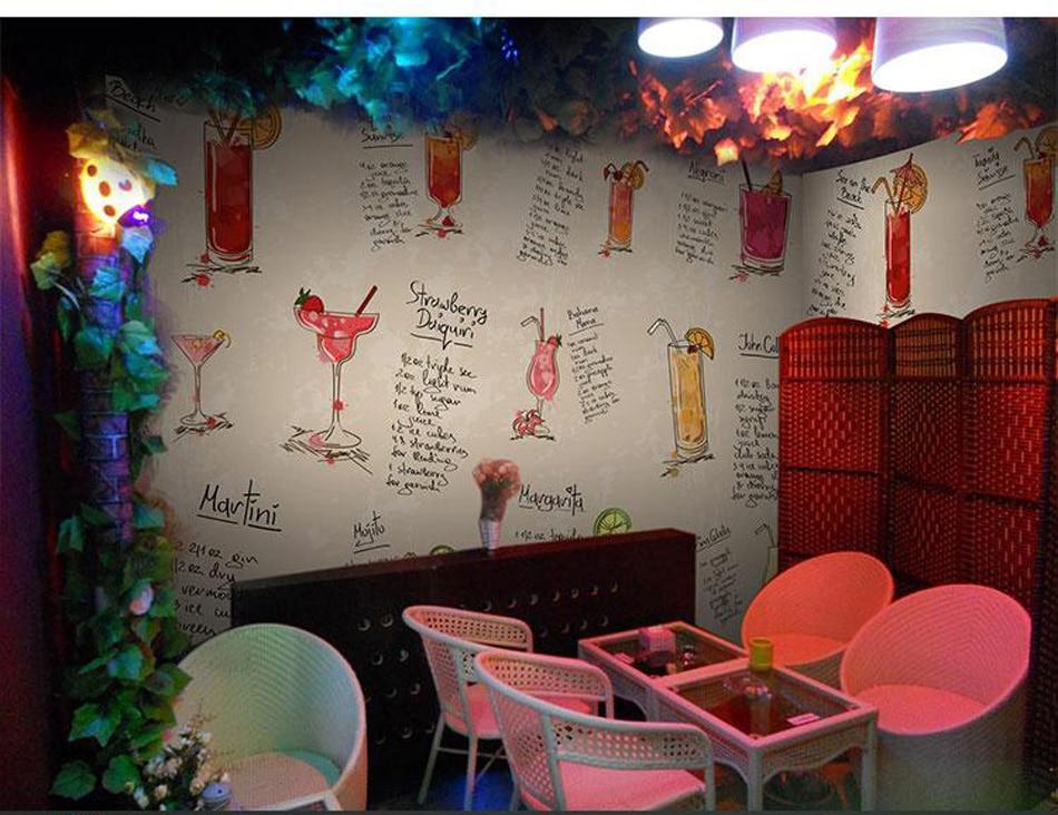 ShineHome-Tea Time Large Custom European 3D Wall Murals Contact Paper Cafe Bar Decor Living Room Bedroom Wallpaper-Roll-Size european church square ceiling frescoes murals living room bedroom study paper 3d wallpaper