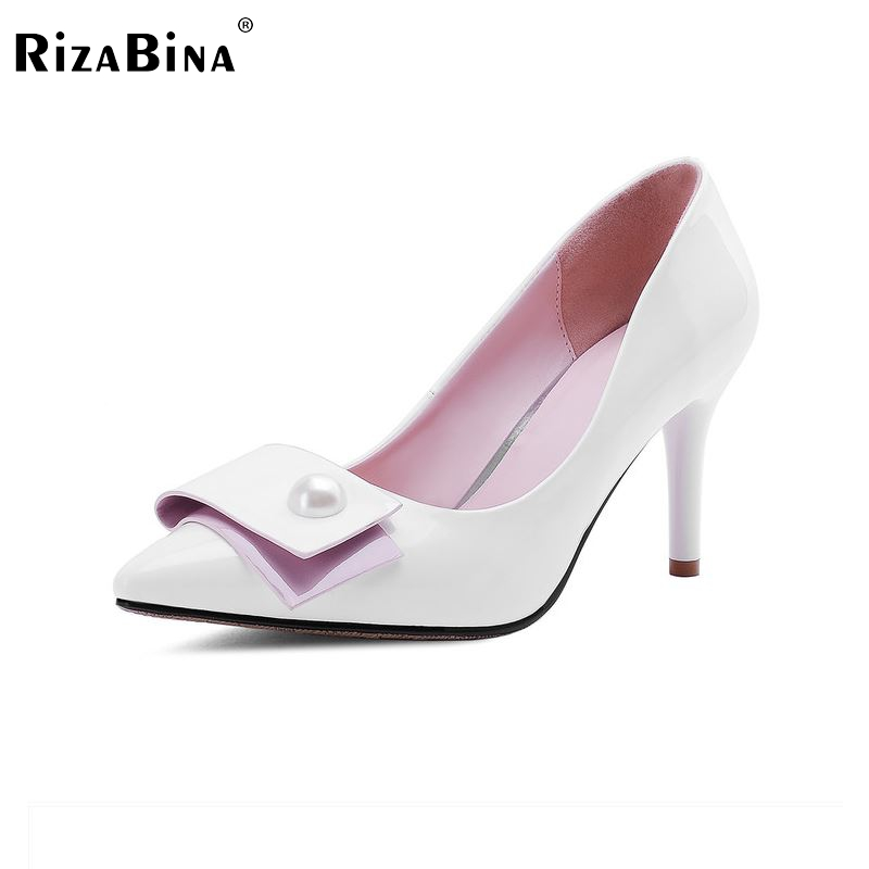 P23128 women patent leather thin heel pumps elegant pointed head stiletto fashion simple style ladies heeled shoes size 33-42 p23128 women patent leather thin heel pumps elegant pointed head stiletto fashion simple style ladies heeled shoes size 33 42