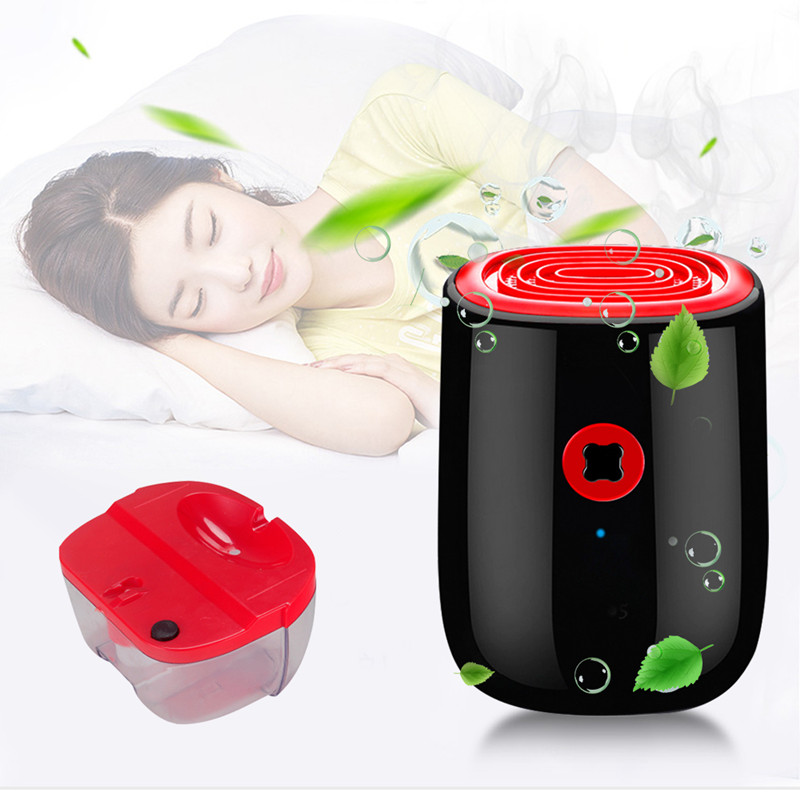 800ml Electric Air Dehumidifier For Home 25W Mini Household Dehumidifier Portable Cleaning Device Air Dryer Moisture Absorber