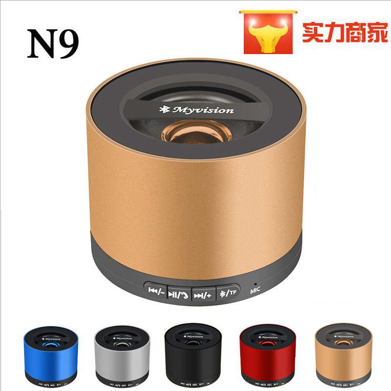 2016 hot sale Factory direct bluetooth mini car gift speaker free shipping n9