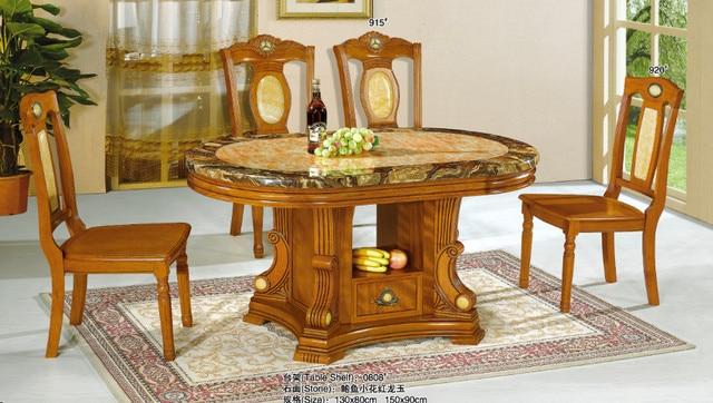 moderne rectangulaire nature dessus en marbre table manger pour salle manger meubles
