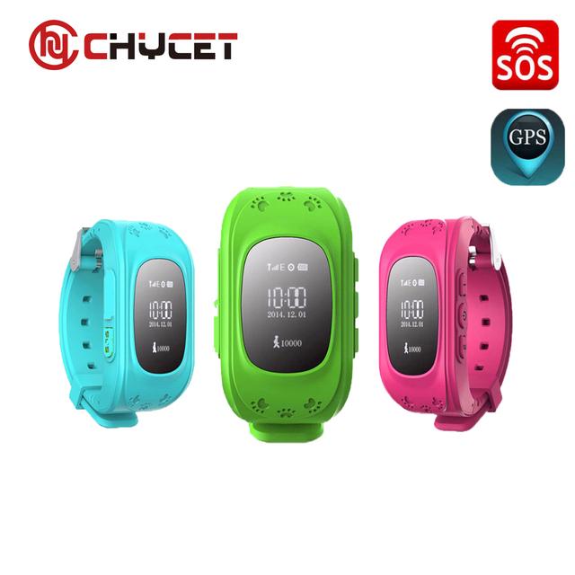 Q50 OLED Chycet Anti Perdido Criança GPS Tracker SOS Inteligente Telefone Crianças GPS Relógio de monitoramento de Posicionamento Compatível com IOS & Android
