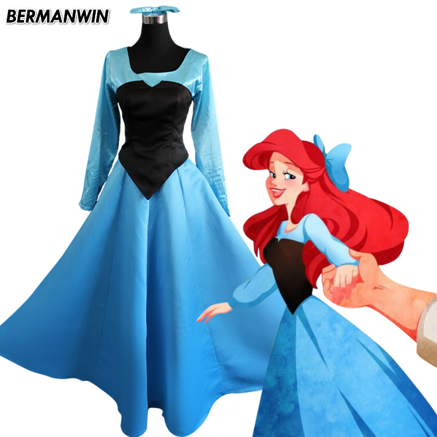 little mermaid ariel blue dress wwwpixsharkcom