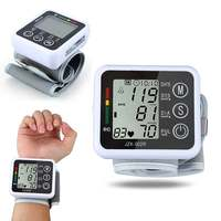 Digital LCD Wrist Blood Pressure Monitor Heart Beat Rate Pulse Meter Measure Household Health Care Device
