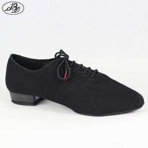 93e6a4e17414ec BD309 Men Standard Dance Shoes Ballroom Shoe Canvas Napped Split Outsole  Practice