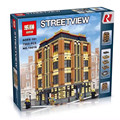 2016 New lepin 15016 7968Pcs Street View Series apple university Model Building Kits Model Blocks Brick Compatible Toy Gift