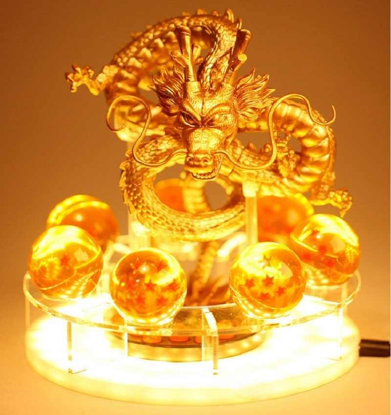 Dragon Ball Z Son Goku светодиодный настольный светильник Spirit Bomb ночной Светильник ламинария комнаты декоративное освещение праздничные подарки 3 выбора света