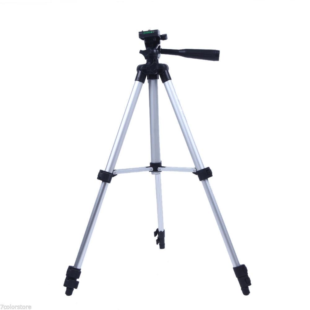 NEUE Pro Kamera Stativ Leichte Flexible drei-wege Kopf für Canon Nikon DSLR