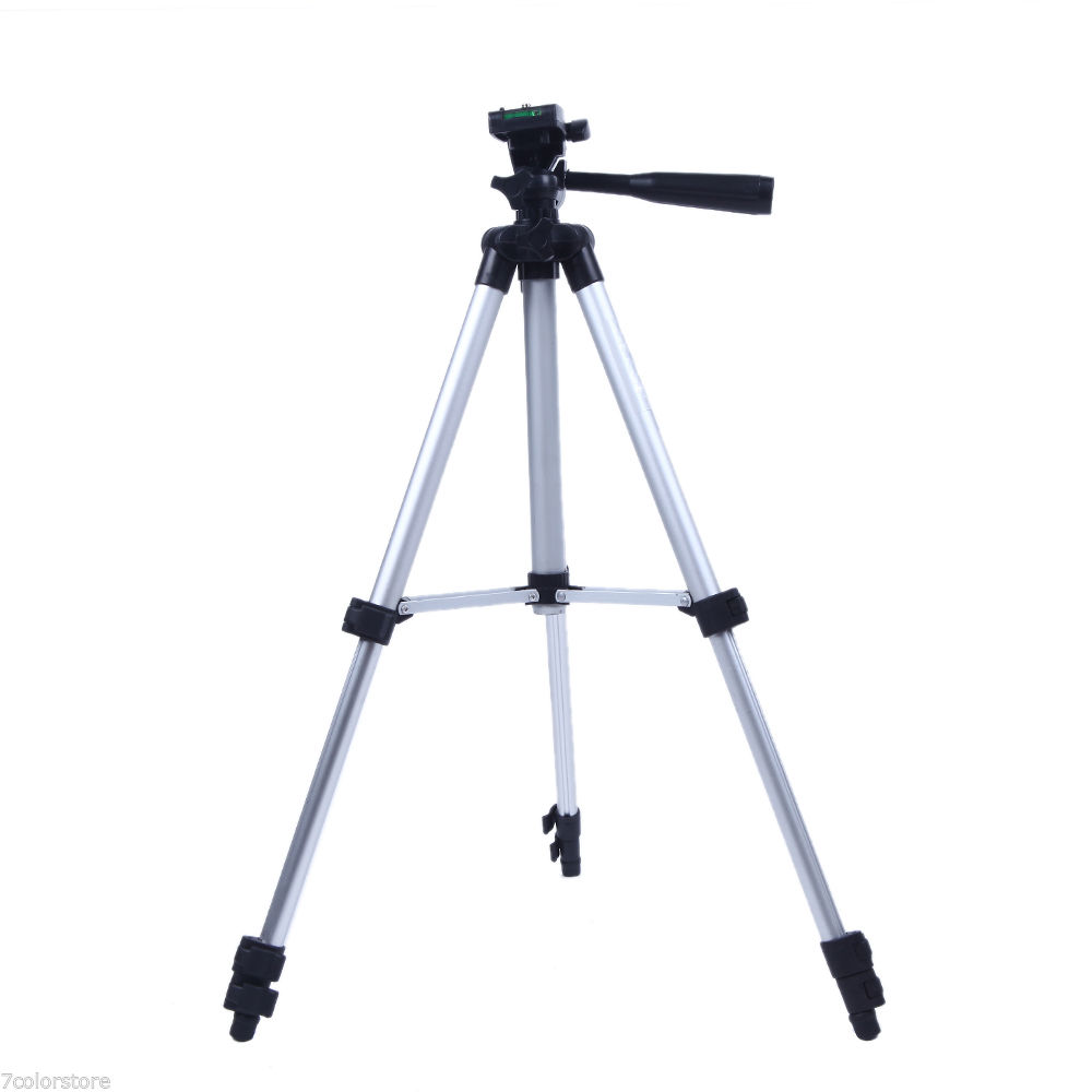 NUOVA Pro Camera Tripod Treppiede Leggero Flessibile A tre vie Testa per Canon Nikon DSLR