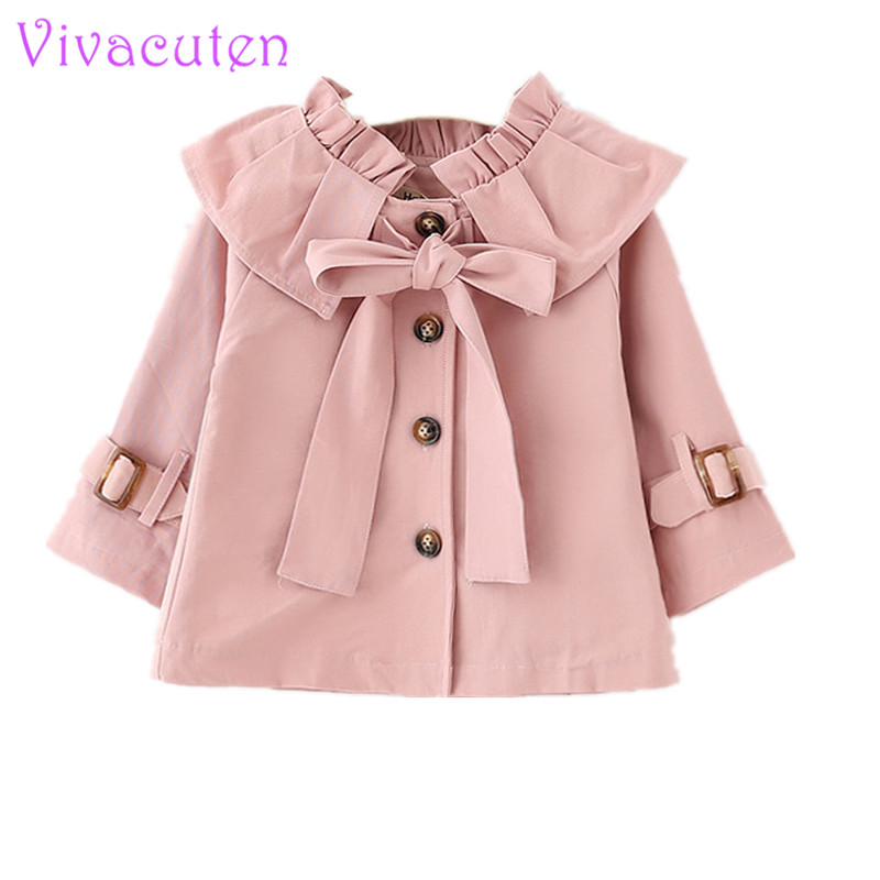 KONFA Teen Toddler Baby Girls Fashion Loose Trench Wind Coat,0-5 Years Old,Winter Overcoat Outerwear Tops Clothes