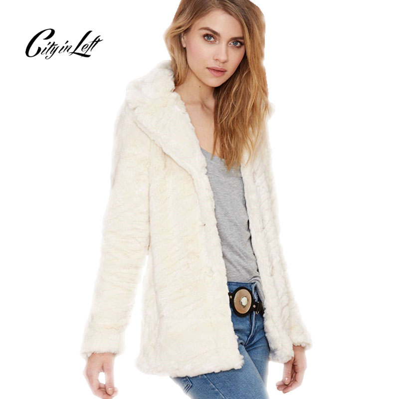 Online Get Cheap White Faux Fur Jacket -Aliexpress.com | Alibaba Group