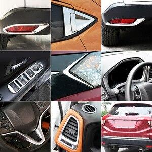 Image 2 - For Honda HR V HRV Vezel 2016 2017 2018 Chrome Front Rear Fog Light Door Handle Bowl Cover Decor Trim Car Styling Accessories