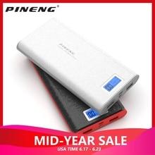 Original Pineng Power Bank 20000mAh PN 920 Portable Mobile External Battery Charger Dual USB With Flashlight