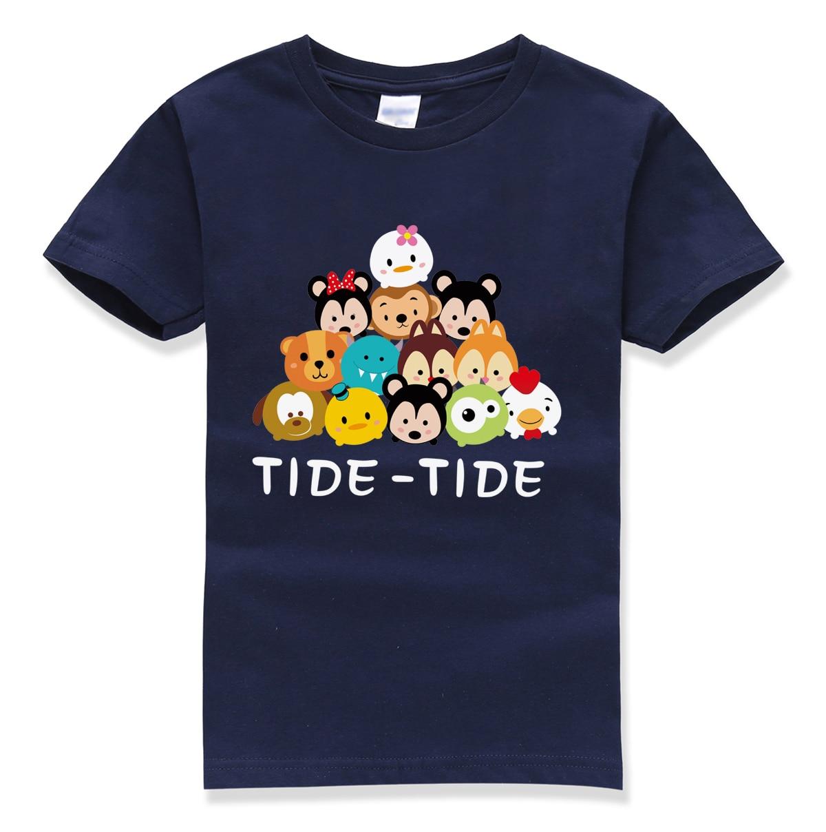 LINDO animal tops camiseta divertida verano 2018 nueva marca de moda - Ropa de ninos