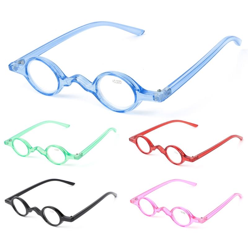 030487faefef8 Pequeno Rodada do vintage Oval Óculos de Armação de Óculos De Leitura  Presbiopia 1.0 1.5 2.0