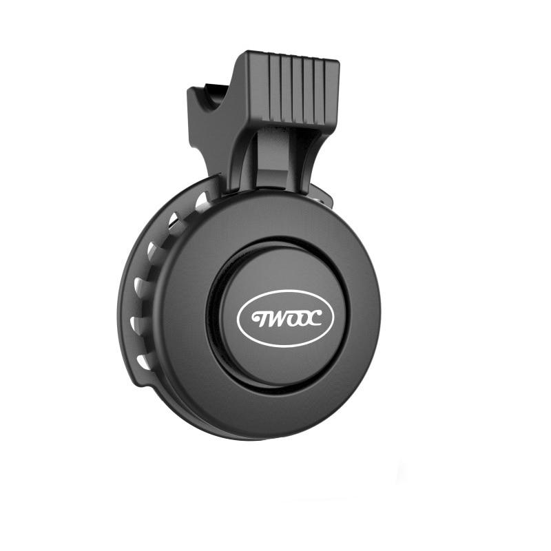 120db USB lade Fahrrad Lenker Ring Elektronische Glocke Horn IP65 Wasserdichte 3 Modi Lauter Alarm Glocke Sicherheit Radfahren Glocken