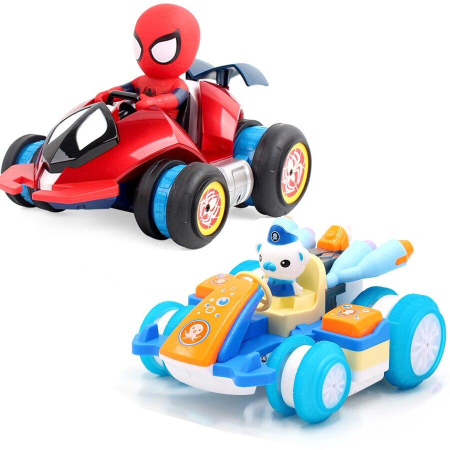 Cute Cartoon Pig Cat Dirft RC Car Toy Remote Control Electric Toys Car Stunt Car Toy Boy Girl Gift