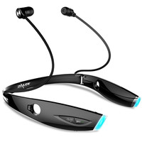 Zealot H1 Foldable Sport Bluetooth Headset Sweatproof Auriculares Neckband Wireless Headphone HandsFree For Running Gym Exercise
