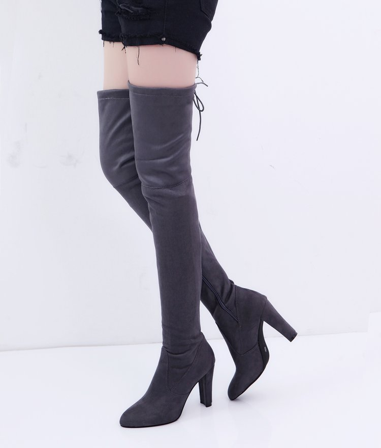0e6a081a9 Aike Asia New Over The Knee Boots Women Shoes Winter Stretch Keep ...