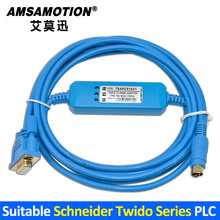 Adatto Schneider Twido Serie Plc Cavo di Programmazione Porta TSXPCX1031 Scaricare Linea di RS232