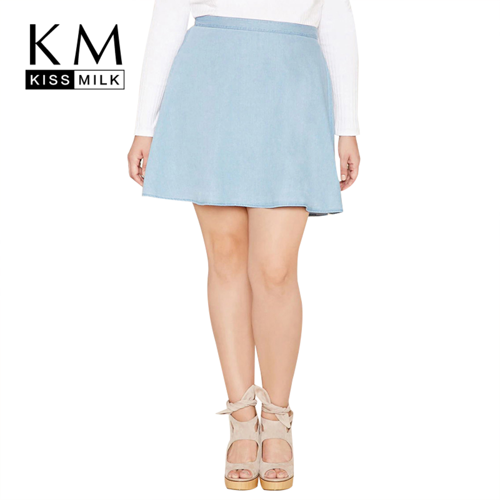 Kissmilk Plus Size New Fashion Women Clothing Casual Sweet ...