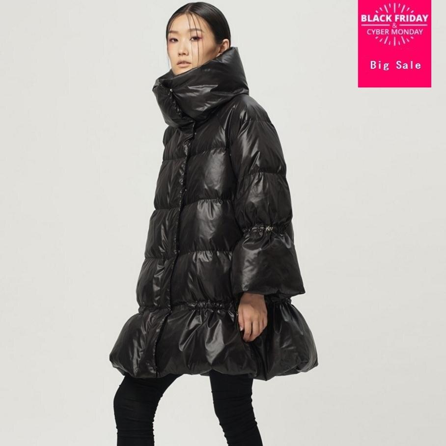 57d460a18fde Great quality Fashion brand 90% duck down Skirt style coat 2018 women s  winter duck down jacket thicker warm down jacket wj1536