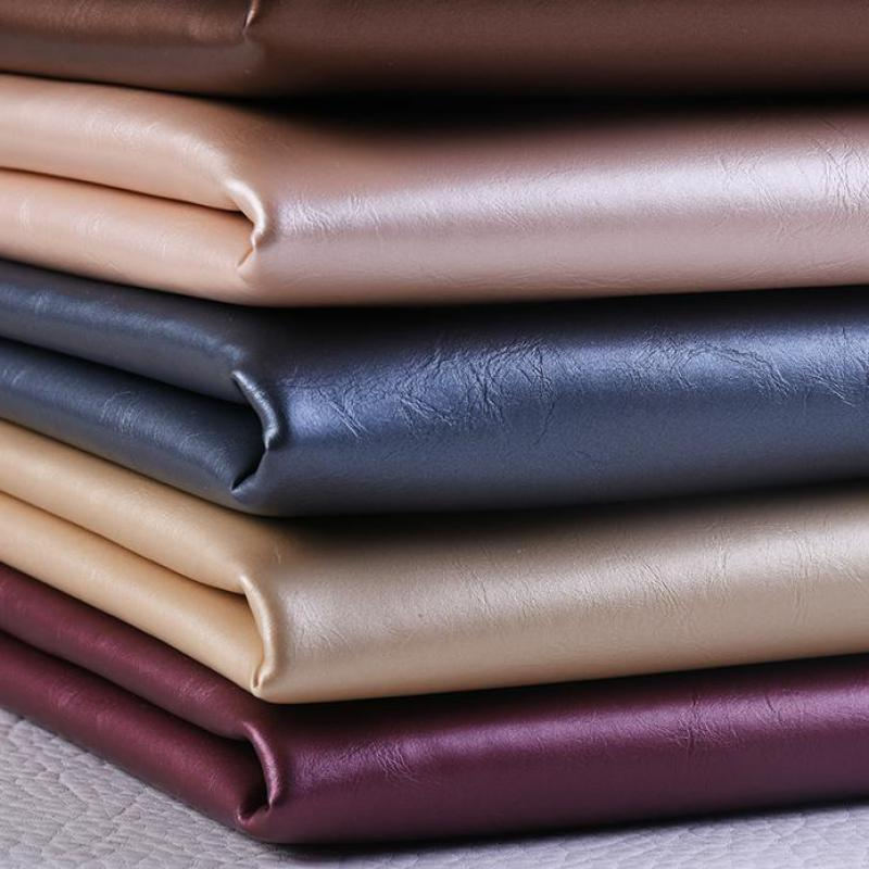 1 meter Thick Pu Leather Furniture Colors Patterned Fabric Upholstery Material For Chairs Seat Sofa Leather Cover Cuero Metro