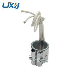 LJXH 2 шт. нержавеющая сталь нагревательная полоса 220 в 30x25 мм/30x30 мм/30x35 мм мощность 70 Вт/85 Вт/100 Вт для пластик техники