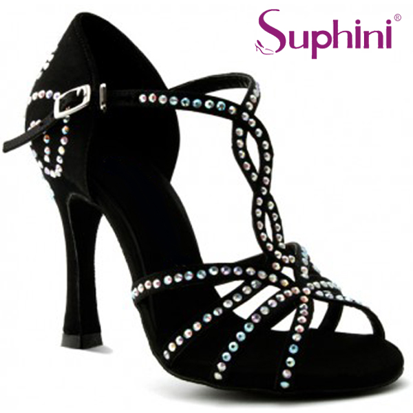 Free Shipping Suphini Latin Dance font b Shoes b font Available to customized Woman Nude font