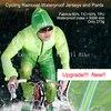 Bicycle Raincoat Waterproof Cycling Rain Jacket Suit Climbing Hiking Fishing Rainwear Rainproof Pants Riding Sleeve Set