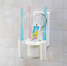 Присоски Зубная щётка и зубная паста владельцев настенное крепление